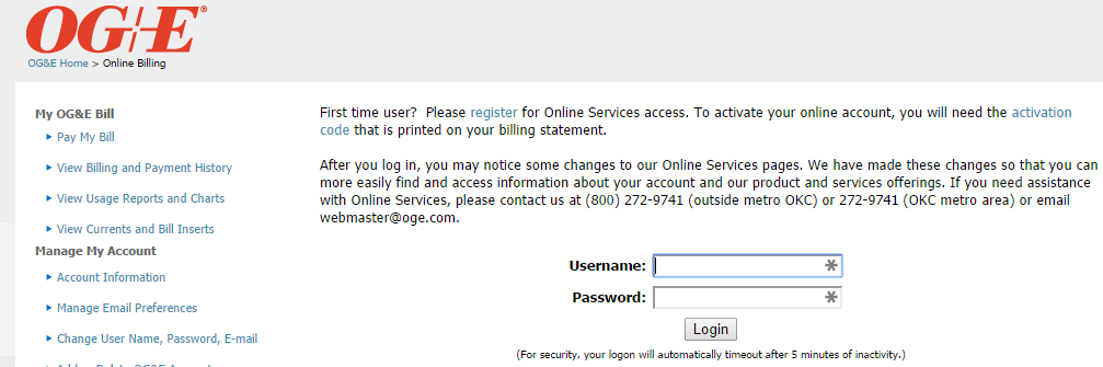 city of norman online bill pay
