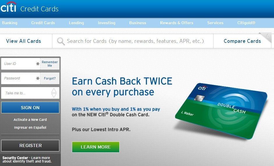Citibank Account Online >> How To Register And Manage A Citi Credit Card Account Online