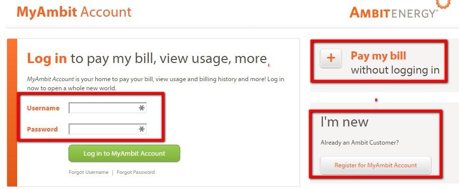 Ambit Energy Login >> Ambit Energy Bill Pay - www.AmbitEnergy.com - InformerBox