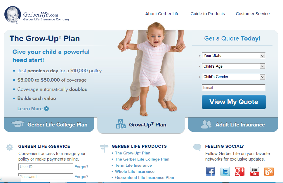 Gerber Life Insurance Company Bill Pay - Secure Online Payment