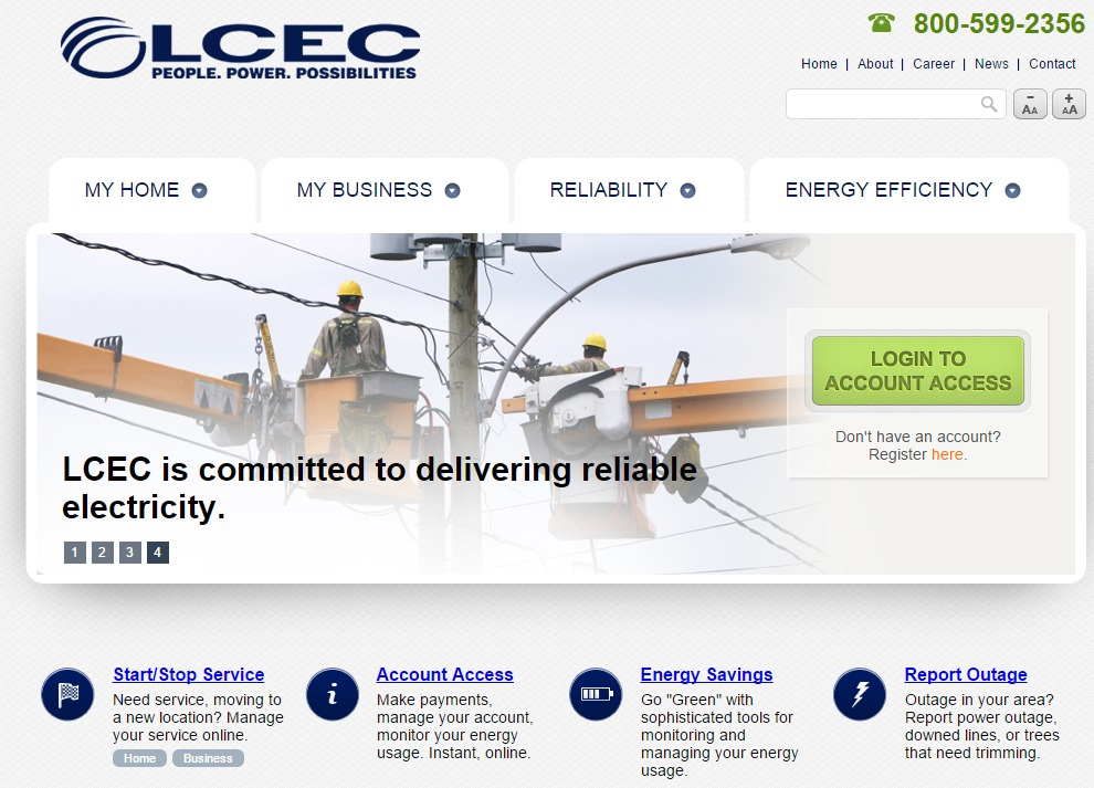 lcec electric pay bill