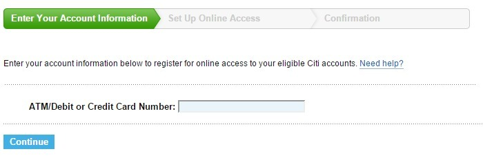 Citibank Checking Login >> How to register and manage a Citi credit card account online - InformerBox