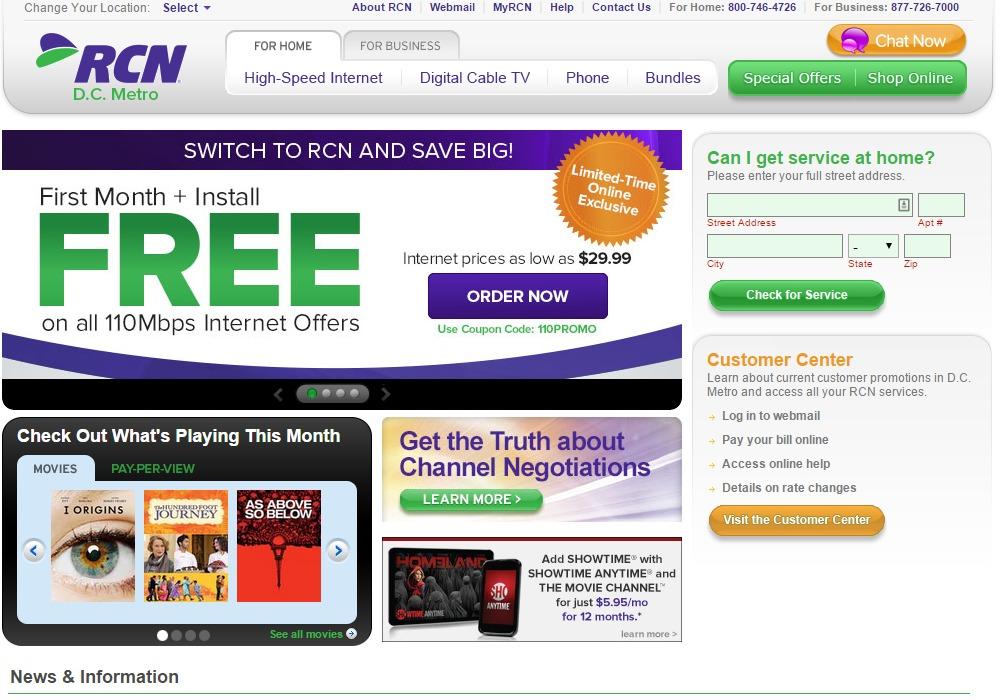 RCN Bill Pay - InformerBox
