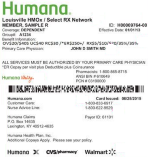 Humana Home Health Billing Manual
