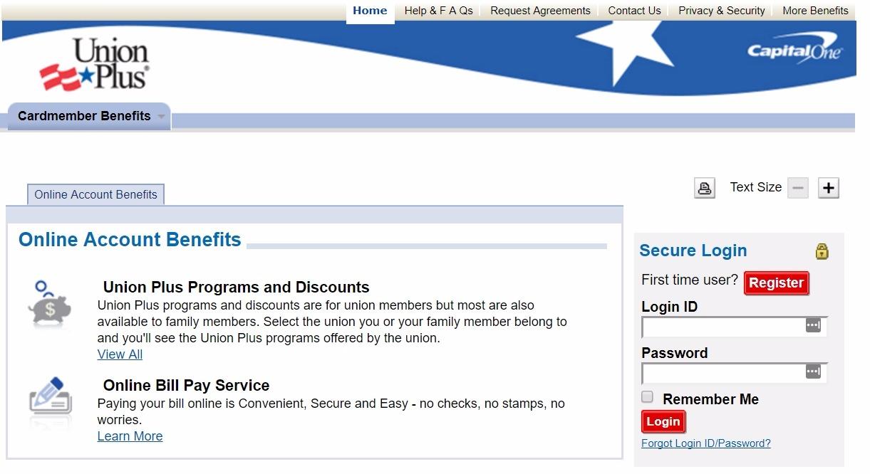 www.unionpluscard.com login